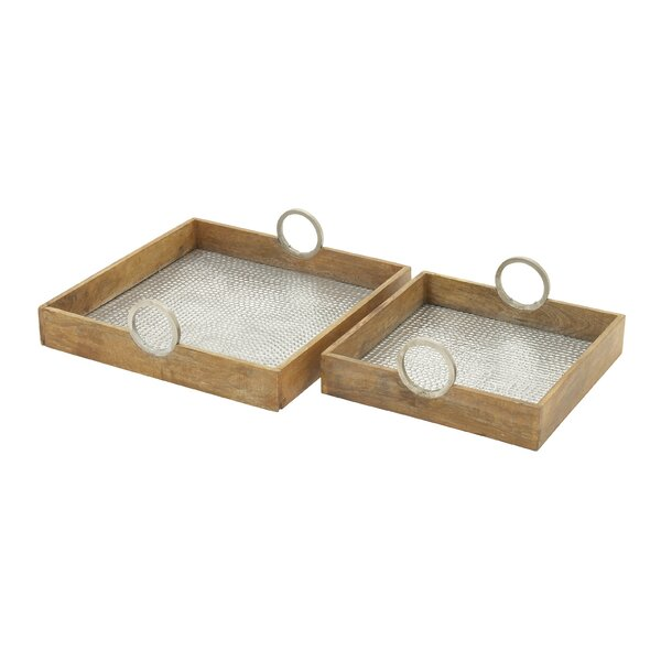 2 Piece Tray Set by Cole & Grey