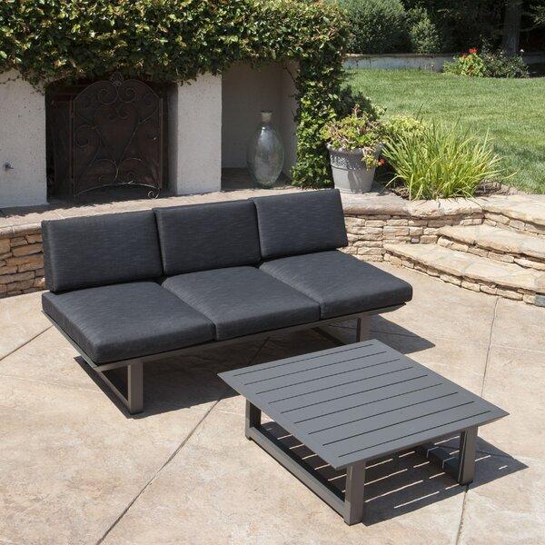 Grace 2 Piece Sofa Set with Cushions by Orren Ellis