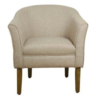 Bargain Church Barrel Chair by Zipcode Design