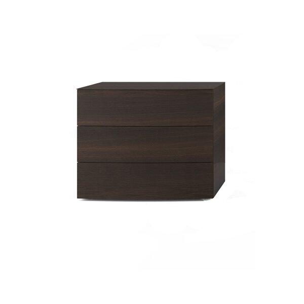Arco 3 Drawer Nightstand by Pianca USA