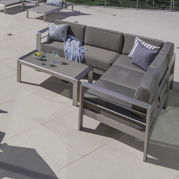 Royalston 17 Piece Conversation Set with Cushions by Brayden Studio