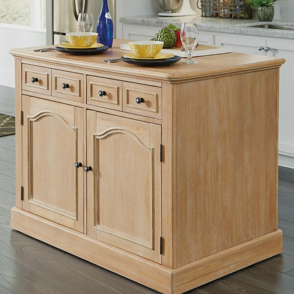Romford Kitchen Island by Three Posts