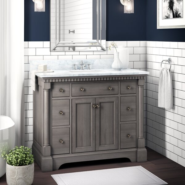 Seadrift 42 Single Bathroom Vanity Set by Greyleig