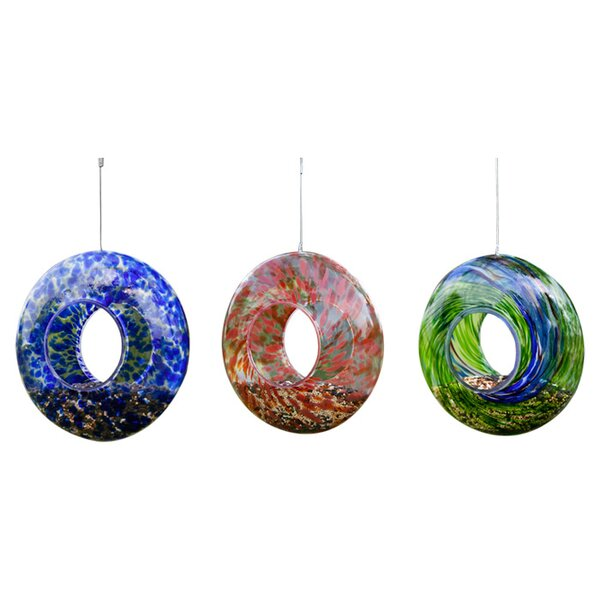 Aurelia Decorative Bird Feeder (Set of 3) by Evergreen Flag & Garden