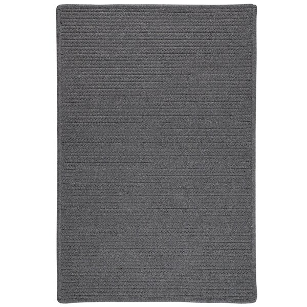 Hopseed Hand-Woven Gray Indoor/Outdoor Area Rug by Bay Isle Home