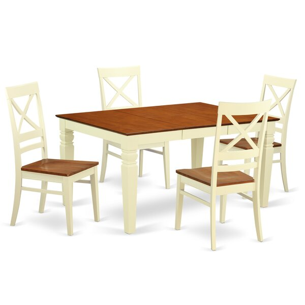 Annable 5 Piece Dining Set by Darby Home Co