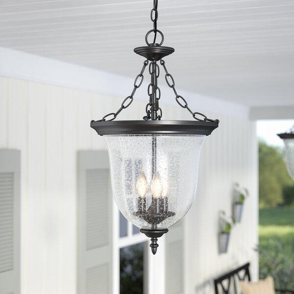 Maxillaria 3-Light Outdoor Pendant by Laurel Foundry Modern Farmhouse