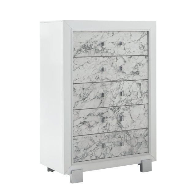 Faria 5 Drawer Chest by Everly Quinn
