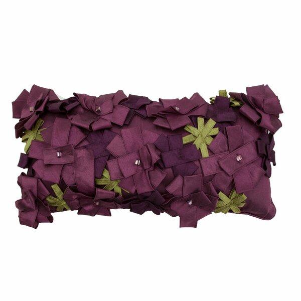 Origami Rose Lumbar Pillow by R&MIndustries