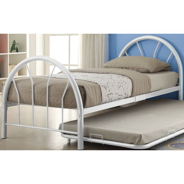 Brunson Twin Panel Bed with Trundle by Zoomie Kids
