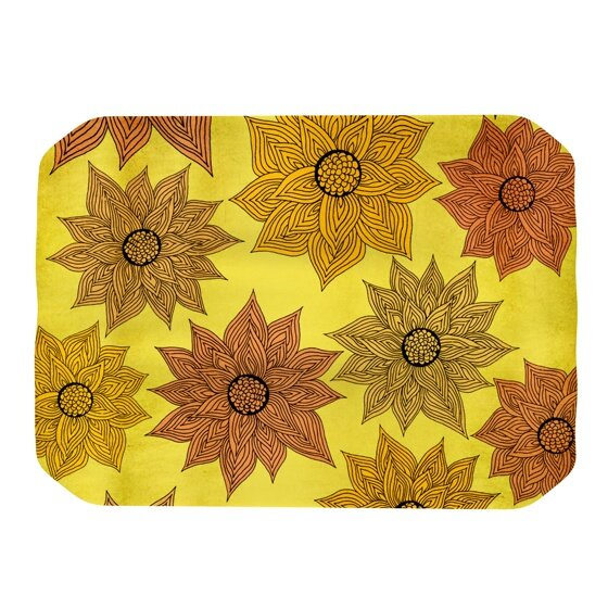 Its Raining Flowers Placemat by KESS InHouse