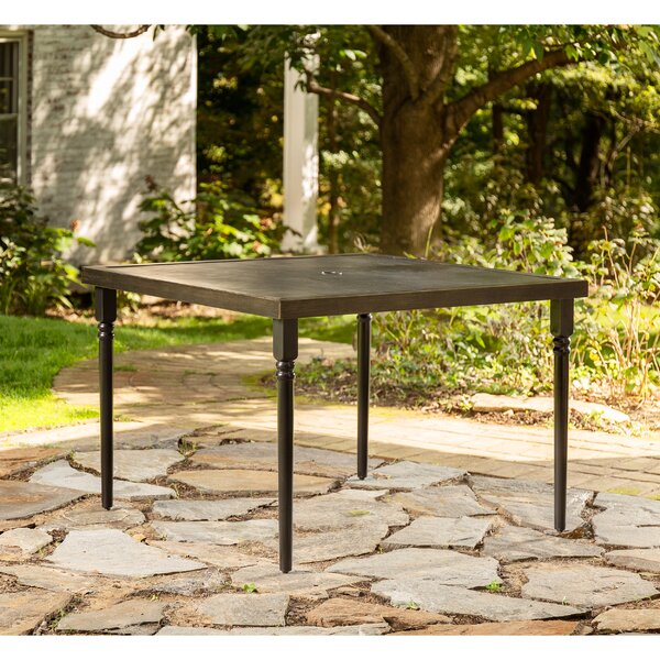 Addyson Aluminum Dining Table by La-Z-Boy