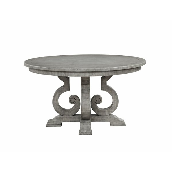 Maritza Pedestal Dining Table by Ophelia & Co. Ophelia & Co.