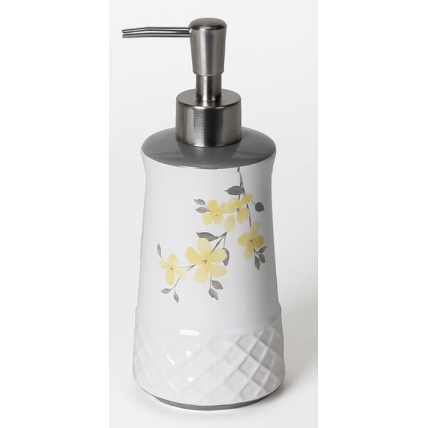 Spring Garden Lotion Dispenser by Saturday Knight, LTD