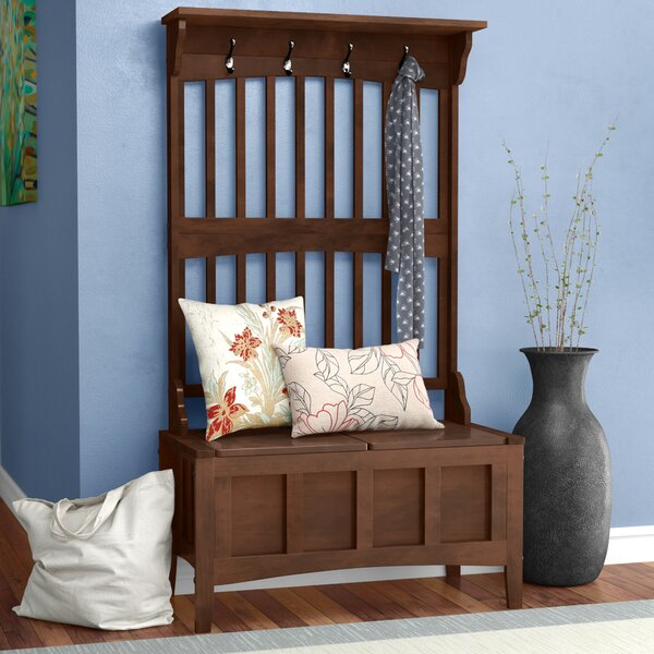Louisa Hall Tree with Storage Bench by Andover Mil