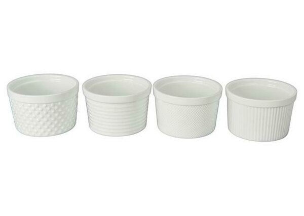 12 Oz. Texture Ramekin (Set of 4) by BIA Cordon Bleu