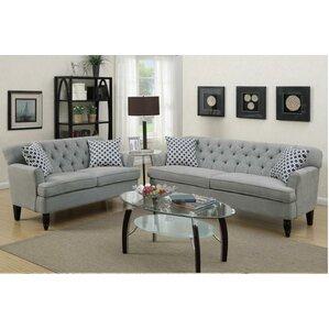 Angel 2 Piece Living Room Set