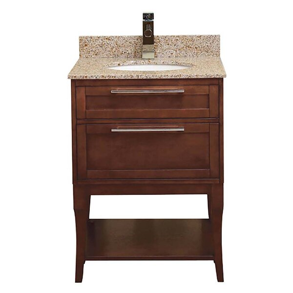 Aura 25 Single Freestanding Vanity Set by DECOLAV