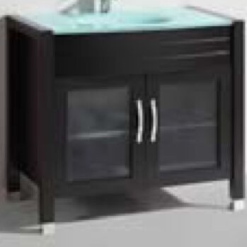 36 Single Modern Vanity Set by Belvedere Bath