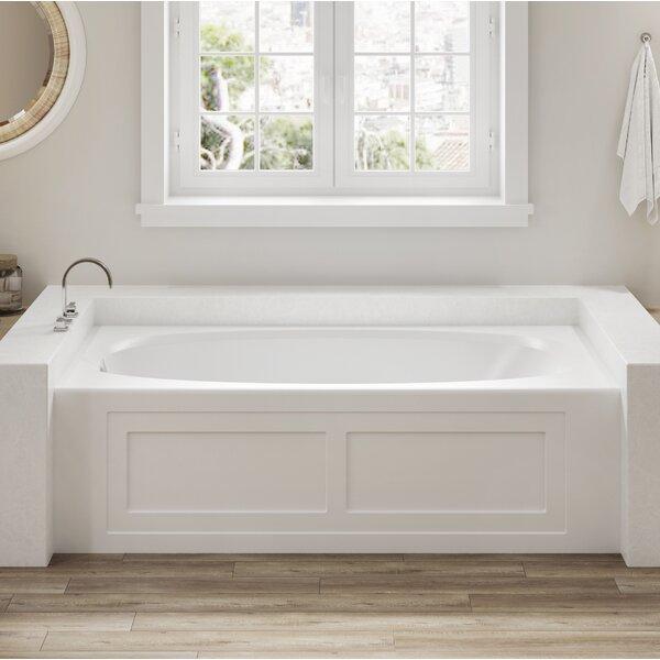Amiga 72 x 36 Drop In Soaking Bathtub by Jacuzzi®