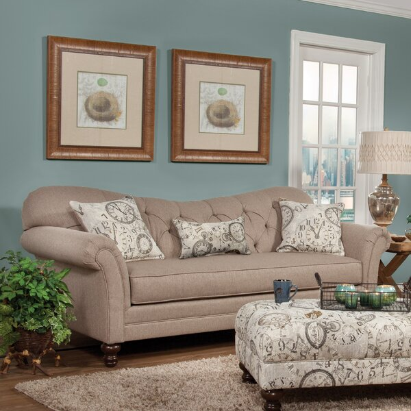 Valuable Quality Kyla Chesterfield Sofa by Darby Home Co by Darby Home Co