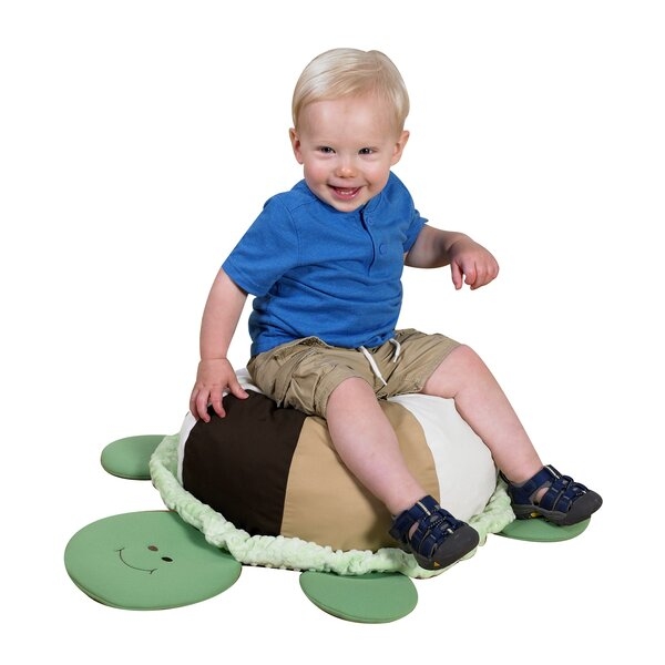 Sensory Turtle Bean Bag Chair by Children's Factory