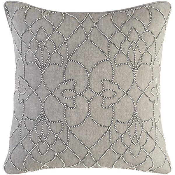Highworth Linen Throw Pillow by House of Hampton