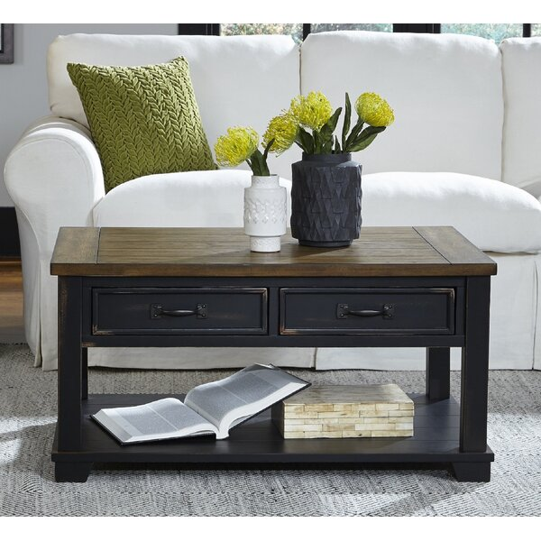 Kenneth Coffee Table with Storage by Laurel Foundry Modern Farmhouse Laurel Foundry Modern Farmhouse