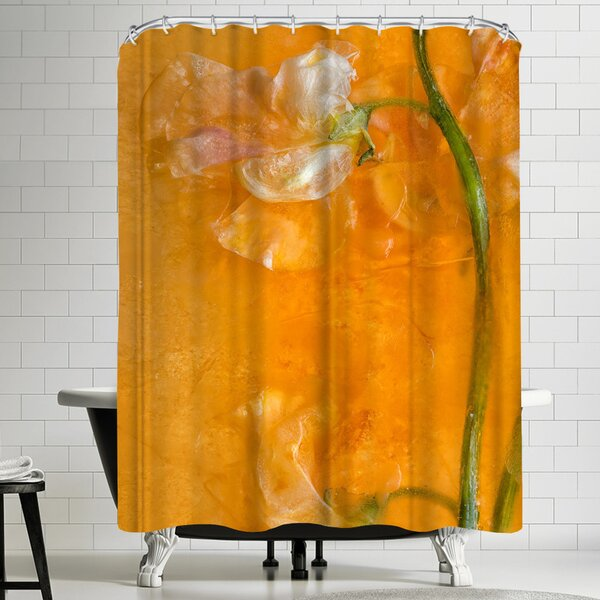 Zina Zinchik Soft Cloud Copy Shower Curtain by East Urban Home