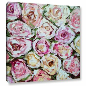 Box of Roses Painting Print on Wrapped Canvas by House of Hampton