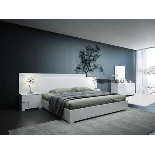 Parman Italian Queen Platform5 Piece Bedroom Set ByOrren Ellis
