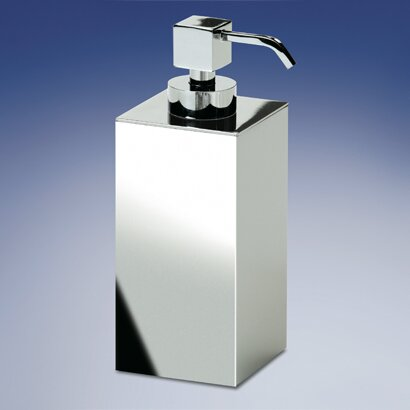 Square Contemporary Brass Soap Dispenser by Windisch by Nameeks