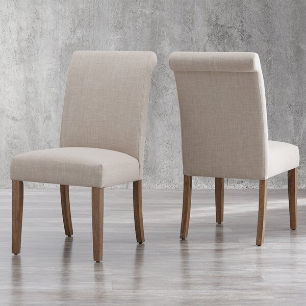 Tenorio Upholstered Dining Chair (Set of 2) by Charlton Home