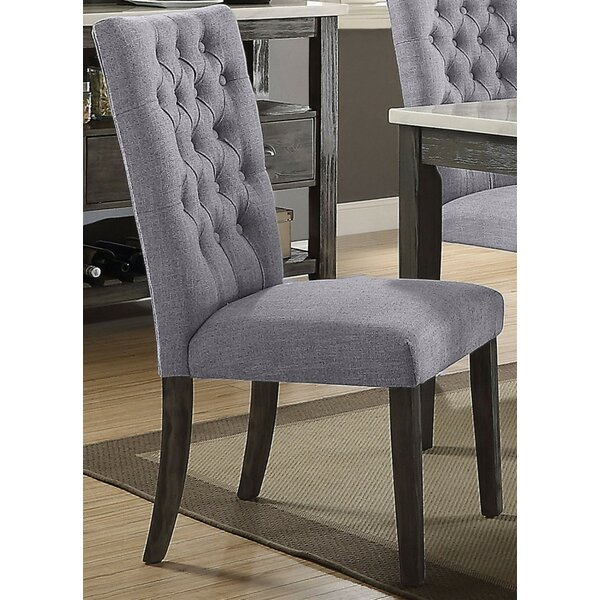 Zariah Upholstered Dining Chair (Set of 2) by One Allium Way