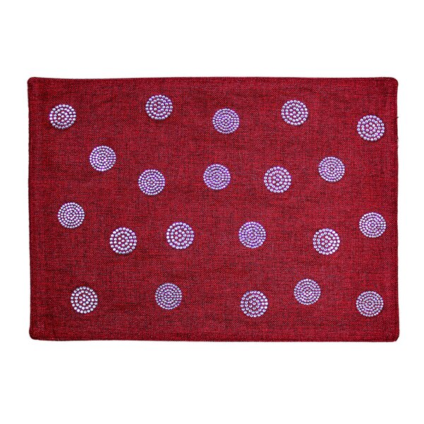 Rhinestone Bobble Placemat by Sparkles Home