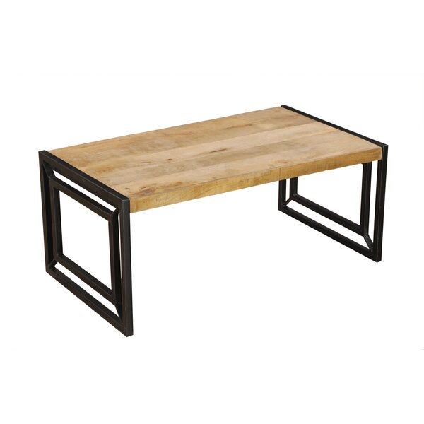 Zebediah Frame Coffee Table By Union Rustic