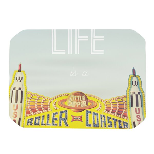Life Is A Rollercoaster Placemat by KESS InHouse