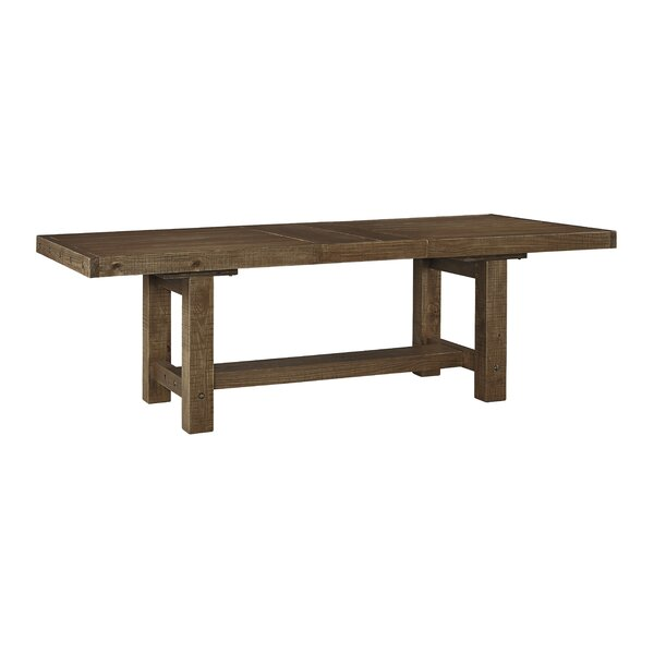 Best #1 Etolin Extendable Dining Table By Loon Peak Coupon