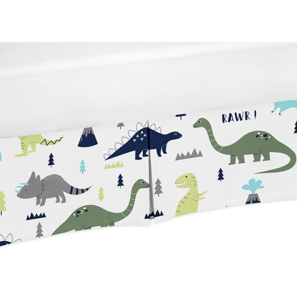 Mod Dinosaur Crib Skirt by Sweet Jojo Designs