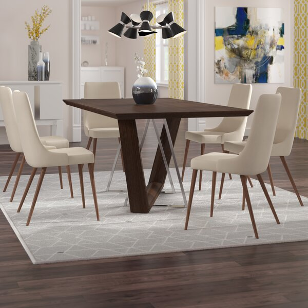 Aldina Contemporary 7 Piece Dining Set by Langley Street Langley Street™