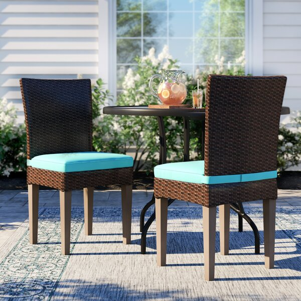 Fernando Patio Dining Chair with Cushion (Set of 2) by Sol 72 Outdoor