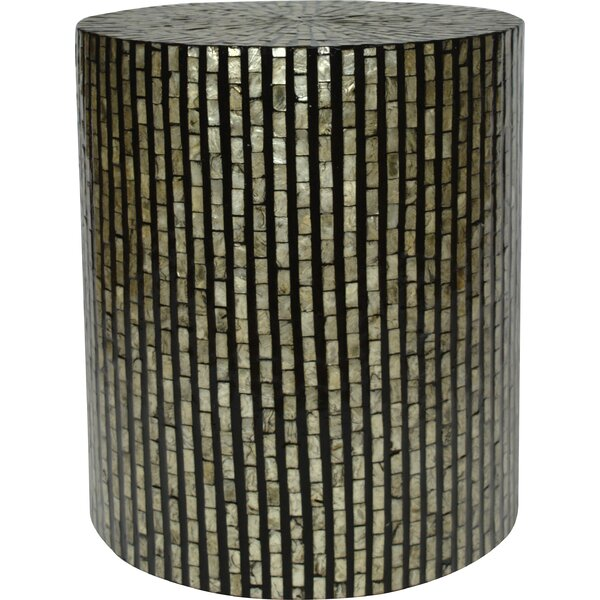 Craig Drum End Table By Highland Dunes