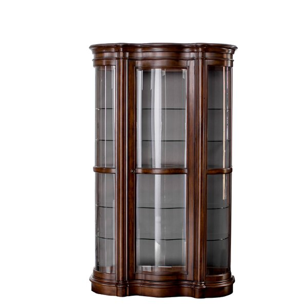 Millhouse Lighted Curio Cabinet by Astoria Grand