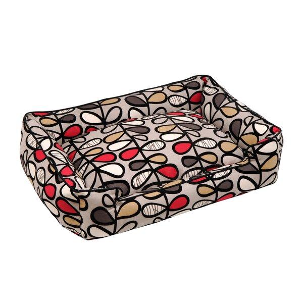Vines Lounge Bolster Pet Bed by Jax & Bones