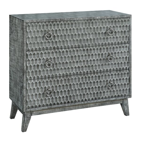 Frias 3 Drawer Accent Chest