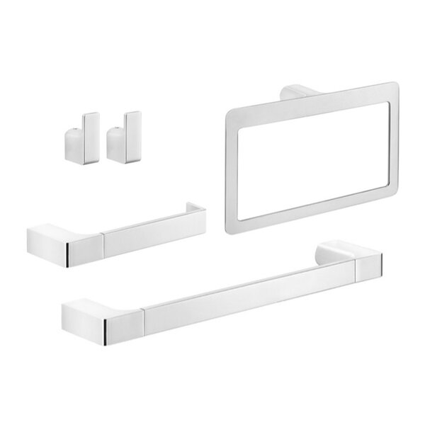 Pirenei 5 Piece Bathroom Hardware Set by Gedy by Nameeks