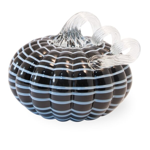 Striped Pumpkin by The Holiday Aisle