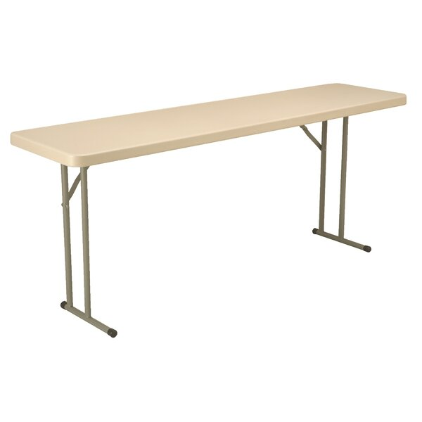 72 L x 18 W Blow Mold Folding Table by KFI Seating