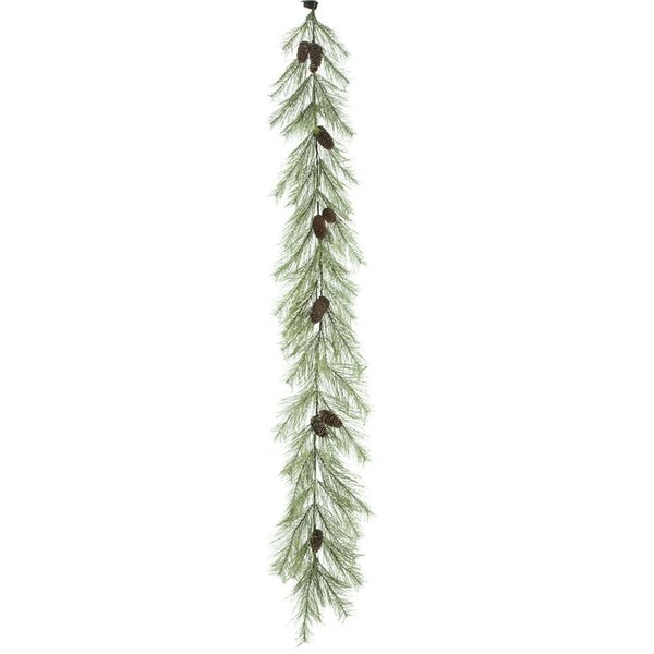 Snow Pine Garland by The Holiday Aisle