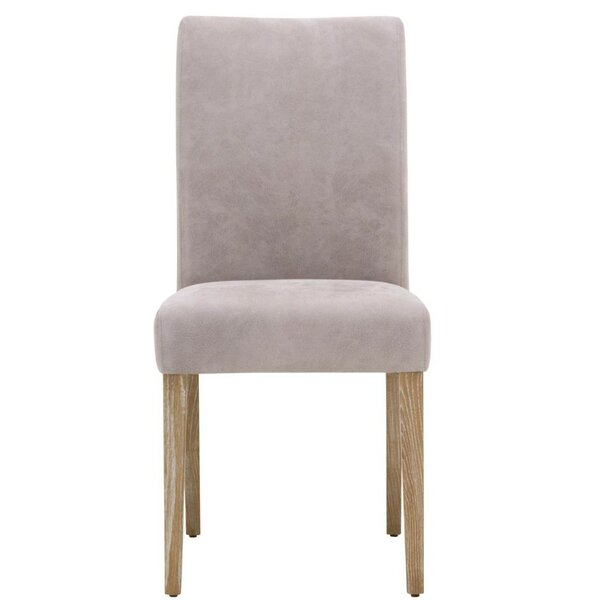 Aryan Wooden Upholstered Dining Chair (Set of 2) by Foundry Select